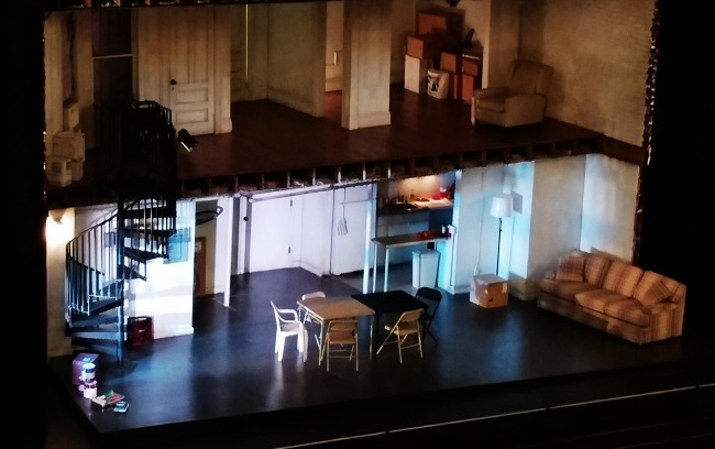 humans stage set at playhouse square